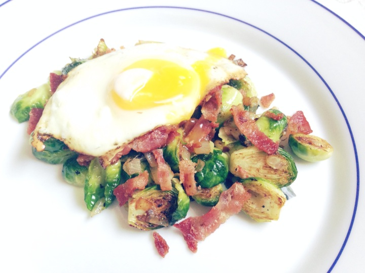 Brussels sprouts for breakfast!? Why not?!
